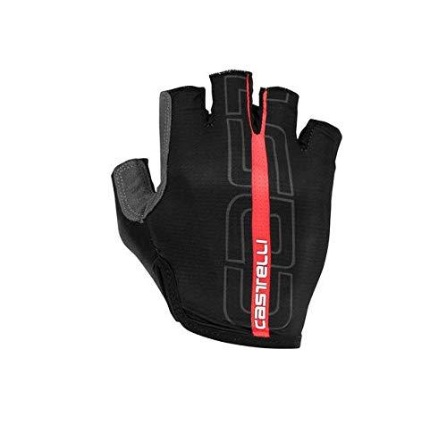 Castelli Tempo Glove - Men's Black/Red,