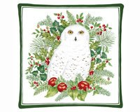 Alice's Cottage AC12325 Snowy Owl Spiced Hot Pad