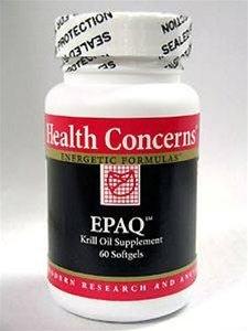 Problèmes de santé EPAQ Huile de Krill, 500 mg - 60 gels