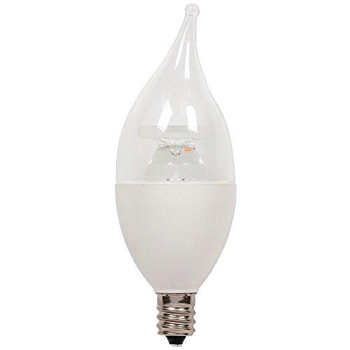 (Westinghouse Lighting 3512400 40-Watt Equivalent C11 Soft White LED Light Bulb with Candelabra Base, 2 Pack, 0)