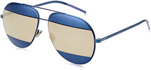 New Dior Sunglasses Women Split Blue QAOUE - Split Dior Sunglasses