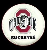 Ohio State University Tire Cover - White Size F
