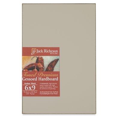 Jack Richeson 2-Inch Premium Tempered Gessoed Hardboard Panel, 12-Inch by 16-Inch by Jack Richeson