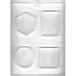 Geometric Shapes Soap Crafting Mold