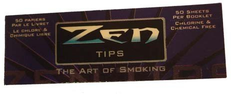 500 ZEN Rolling Papers Filter Tips (10 Booklets of 50) Standard Size ()