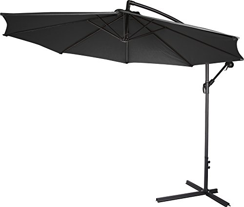 Trademark Innovations Deluxe Polyester Umbrella