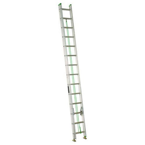 Louisville Ladder AE4228PG Pro Grip Commercial Extension Ladder, 28-Feet, 225-Pound Duty Rating