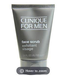Skin Supplies for Men Face Scrub - All Skin Types Clinique 3.4 oz Face Scrub for Men