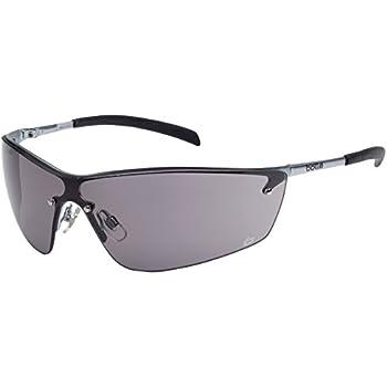 this item bolle silium silium smoked lens safety glasses metal frame