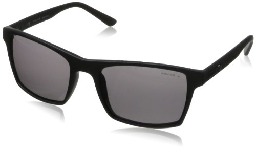 Police S1870-U28P Polarized Square - Police Sunglasses Wayfarer