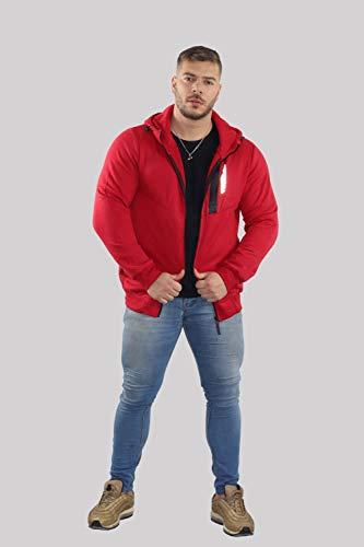 Blusa Masculina Moletom Importada (Vermelha, P)