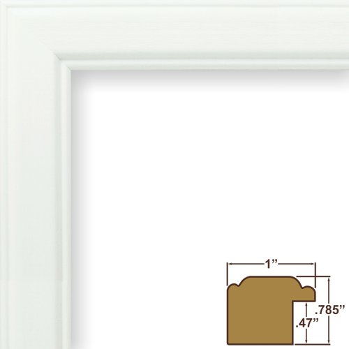 10 x 13 picture frame white - 9