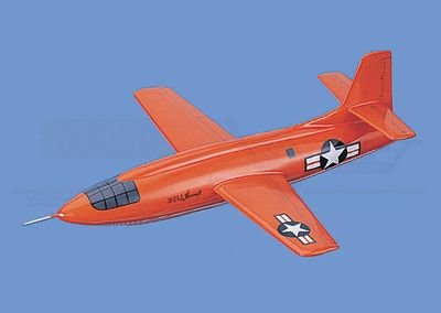 "Bell X-1  ""Glamorous Glennis"" - USAF Aircraft Model Mahogany Display Model / Toy. Scale: 1/32"