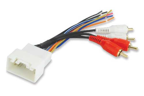 scosche radio wiring harness for 2000 up toyota amplifier interface harness only a look at