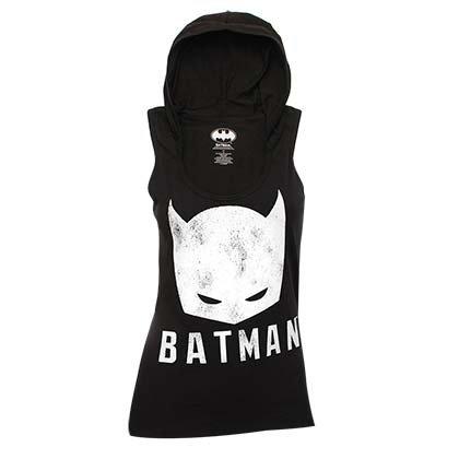 Batman+tank+top Products : Batman Juniors Hooded Tank Top