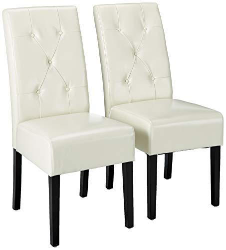 Christopher Knight Home Alexander Ivory Bonded Leather Dining Chair