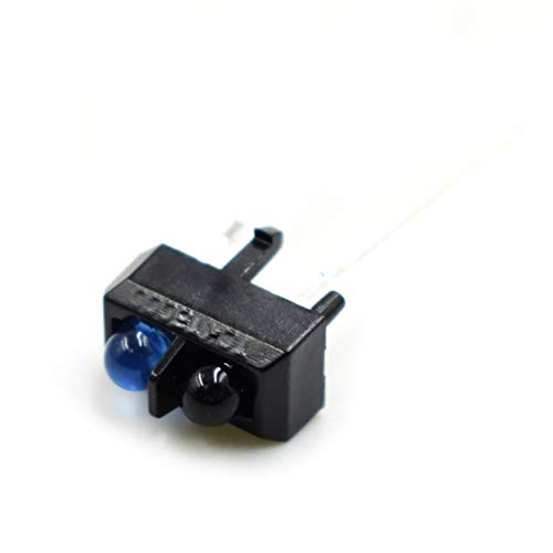 TOUHIA TCRT5000 Photoelectric Sensors Reflective Optical Sensor with Transistor Output Infrared 5V 3A For Tracking and Obstacle Avoidance Car(40PCS)