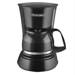 Proctor Silex 48138 4 Cup Coffeemaker, Black