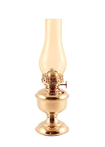 Vermont Lanterns - Small Brass Pico Table Oil Lamp (9