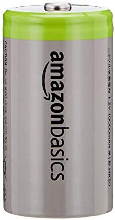 AmazonBasics Rechargeable Batteries 10000mAh 4 Pack product image