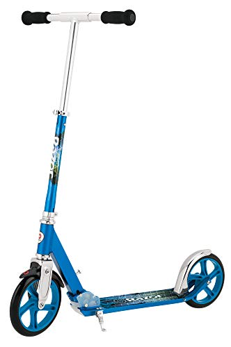 (Razor A5 LUX Kick Scooter - Blue)