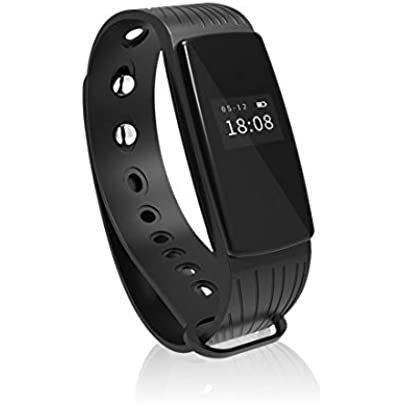YOZOOE ID107 Bluetooth 4 0 Smart Bracelet smart band Heart Rate Monitor Wristband Fitness Tracker for Android iOS Smartphone Fitness Tracker Sports amp Outdoors Estimated Price -