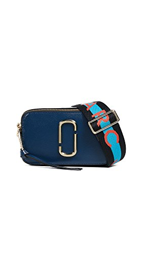 Blue Bag Camera Large Extra - Marc Jacobs Women's Snapshot Camera Bag, Blue Sea Multi, One Size