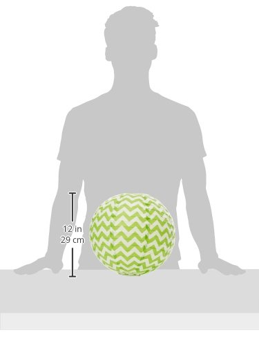 3ct 248900.53 Round Printed Paper Lanterns Kiwi Party Supplies Assorted Size Amscan Party Decorations