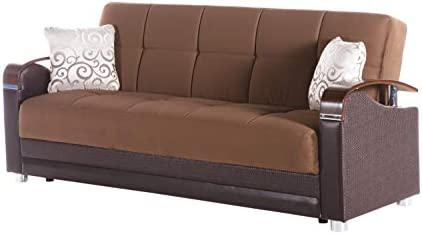 Istikbal Luna Naomi Brown Sofa Sleeper