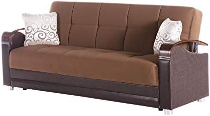 Cheap Istikbal Luna Naomi Brown Sofa Sleeper living room sofa for sale