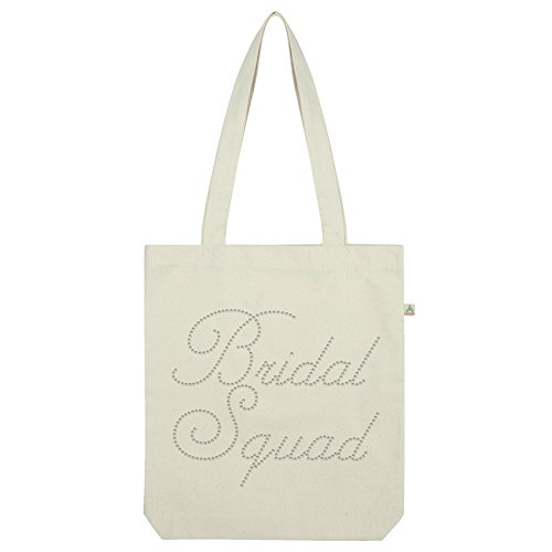 Rhinestone Twisted Bridal Squad Envy White Bag Bridal Twisted Envy Tote Diamante 4YUqPwAdW