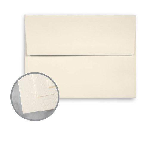 CLASSIC Linen Classic Natural White Envelopes - A6 (4 3/4 x 6 1/2) 70 lb Text Linen 250 per Box - Neenah Classic Linen Natural