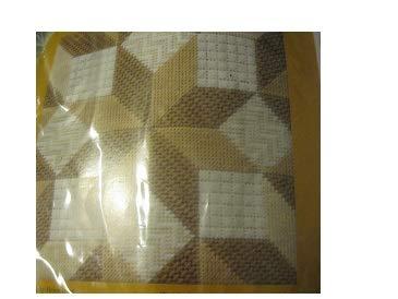 Creative Circle Broken Star Sampler Needlepoint Pillow Kit ()
