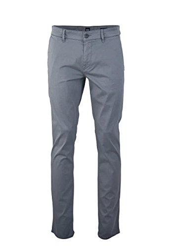 BOSS ORANGE Regular Fit Hose Schino mit Taschen grau Größe W35 L34