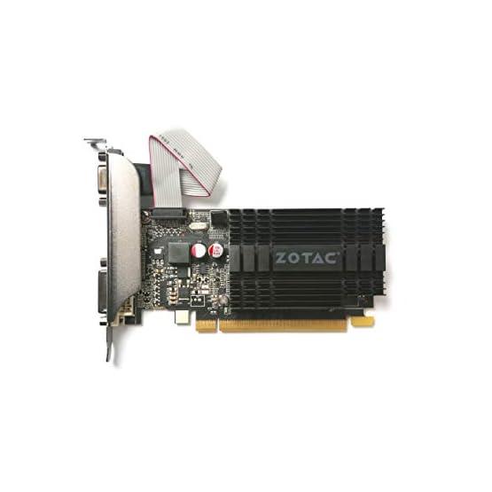 ZOTAC GeForce GT 710 2GB DDR3 PCI-E2.0 DL-DVI VGA HDMI Passive Cooled Single Slot Low Profile Graphics Card (ZT-71302… 317tk3Bg%2BFL. SS555