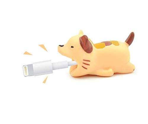 The Original Cable Capper (Cat) | Adorable Animal Bite Cable Protector Cable Bite Chomper Protector Accessory Cable Buddies | Compatible with iPhone Cables and Chargers