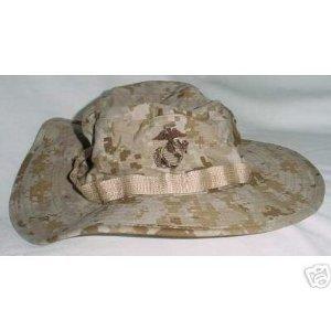 Amazon.com  G.I. USMC Desert MARPAT Boonie Caps - Size Medium ... 044bb865a6a