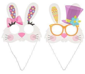 Easter Bunny Mask Craft Kit- Makes 24