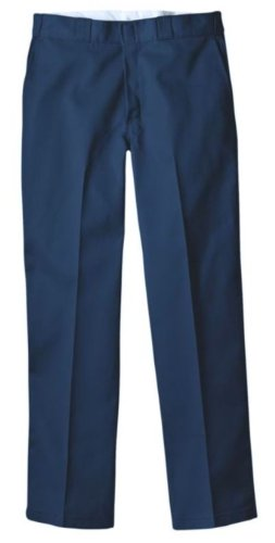 Pantalón de trabajo 874 Dickies original para hombre, azul marino, 36 vatios x 36 litros