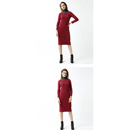 Slim Casual S B A Li colore Unita In Tinta Lunghezza Donna Estiva Cotone Camicia Shi Media Shop Xiang Dimensioni wwqzvB