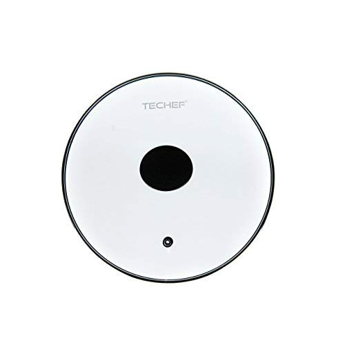 (TECHEF LID20ST Tempered Glass Lid, Made in Korea, 8-in, Clear)