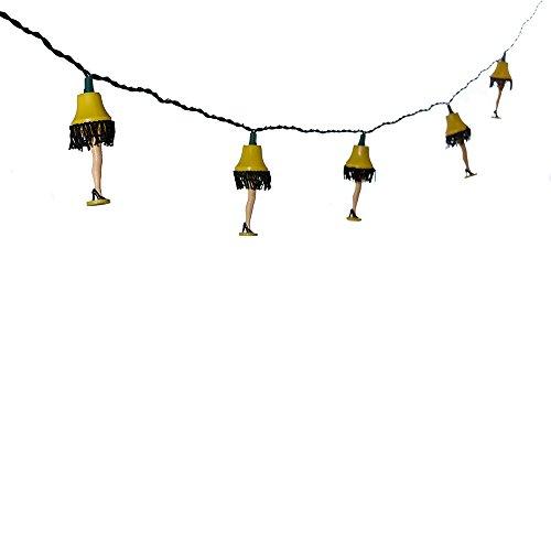 A Christmas Story Kurt Adler UL 10-Luces Lámpara de pie conjunto de luces (CS9141)