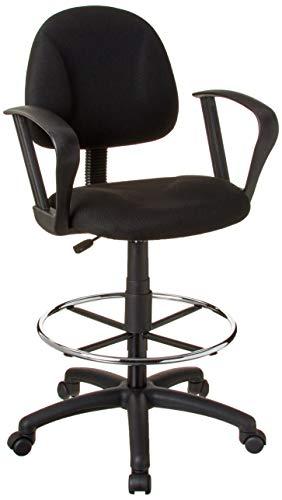 Boss Office Products B1617 Bk Ergonomic Works Drafting