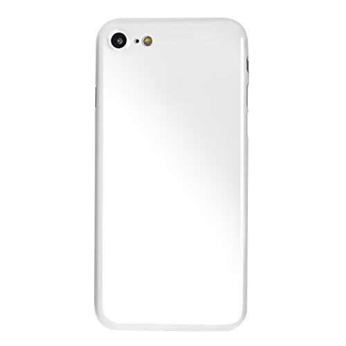totallee iPhone 7 Case, Thinnest Cover Premium Ultra Thin Light Slim Minimal Anti-Scratch Protective - for Apple iPhone 7 The Scarf (Jet White)