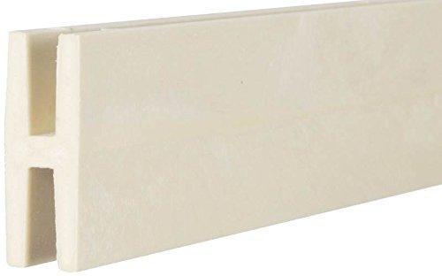 Veranda 3/4 in. x 1/2 in. x 8 ft. White Plastic Lattice D...