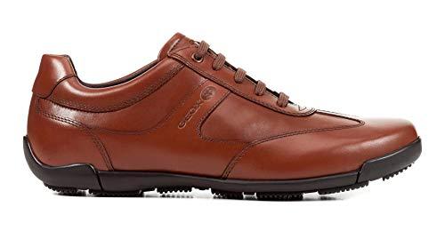 Cognac D'affaires chaussure Mode Geox Décontractée Baskets