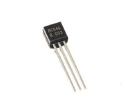 20pcs BC546B BC546 Transistor NPN 65V 0.1A NEW
