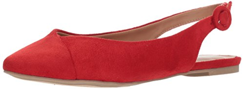 Report Women's Brighton Ballet Flat, red, 9 M US