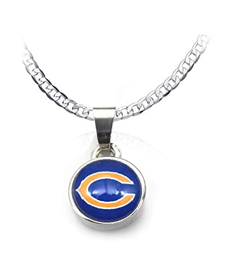 - Devastating Designs Men's Women's 925 Sterling Silver Chicago Bears 20