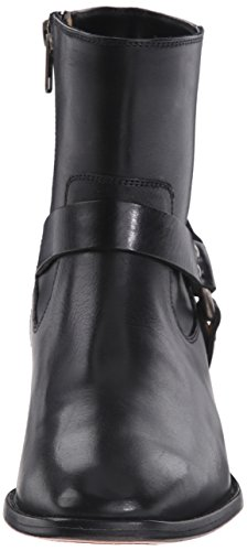 Smooth Veg Black Boot Women's Harness Dara Short FRYE Leather Polished xwH8YqFW6